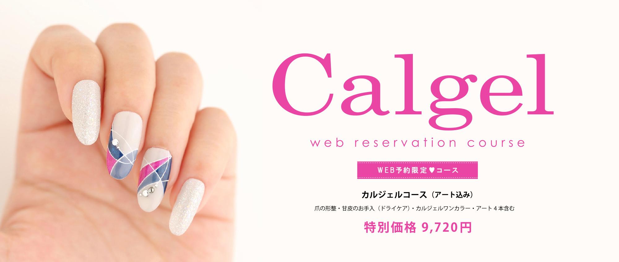 青山のネイルサロン VINGT NAIL カルジェル(calgel)web予約限定コース