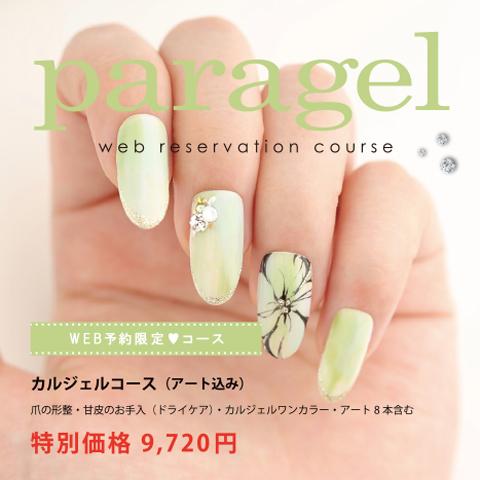 青山のネイルサロン VINGT NAIL パラジェル(paragel)web予約限定コース